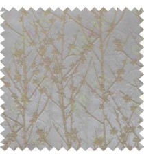 Brown Grey Twigs Forest Design Poly Main Curtain Designs